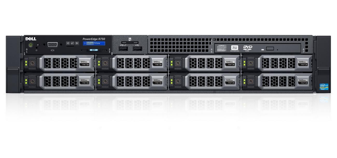 Сервер Dell R730 8×3,5″